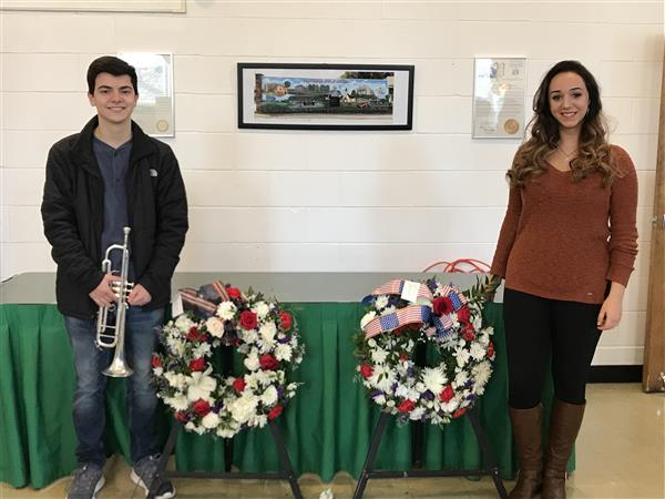 FDR Music Students Participate in the Hyde Park Veterans Day Ceremony