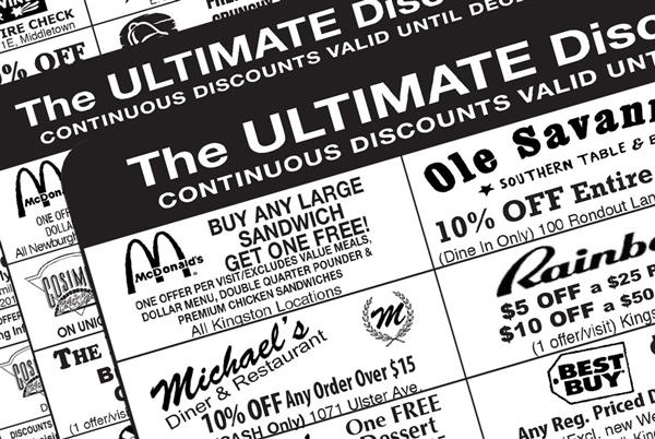 Ultimate Discount Cards Available Until April 12th