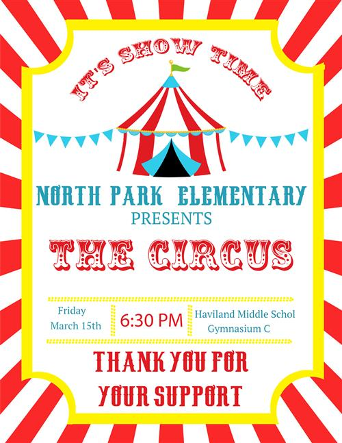 North Park Elementary Circus