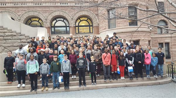 6th Grade visits Museum of Natural History