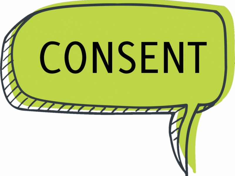 Acknowledging the Code of Conduct, Acceptable Use Policy, and Synchronous Consent documents!