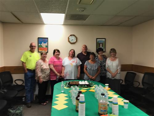 District Retirees Recognized
