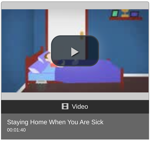 Staying Home When You Are Sick