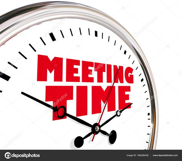 Meeting Time Change Notice