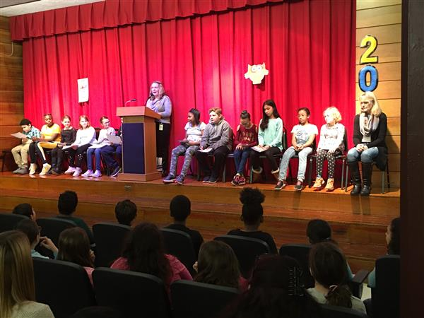 Awards Assembly - Quarter 1