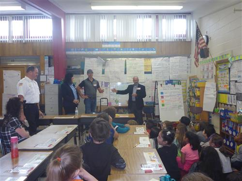 Rotary Club Donates Dictionaries to Third Grade Classrooms