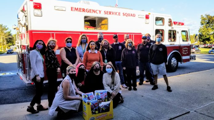 Roosevelt Fire District Donates Supplies During Fire Safety Week